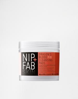 Nip+Fab Очищающие подушечки c драконовой кровью. Цвет: бесцветный