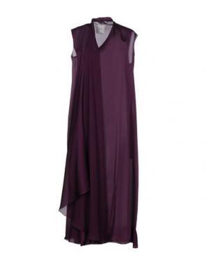 Платье длиной 3/4 SYBILLA. Цвет: фиолетовый