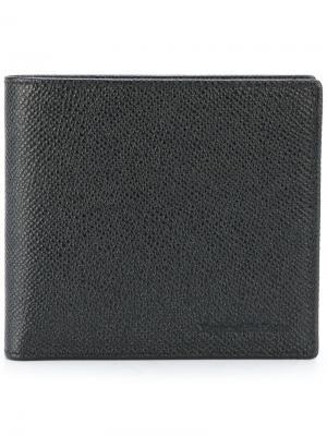 Бумажник Ermenegildo Zegna. Цвет: чёрный