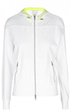 Куртка-ветровка Monreal London. Цвет: белый