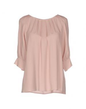 Блузка DEVOTION. Цвет: розовый