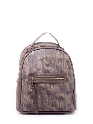 Рюкзак BAGGINI. Цвет: темно-коричневый