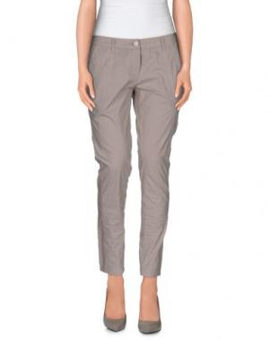 Повседневные брюки L'AIR DE RIEN. Цвет: светло-серый