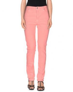 Джинсовые брюки JEFF. Цвет: лососево-розовый