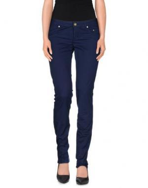 Повседневные брюки SIVIGLIA. Цвет: темно-синий