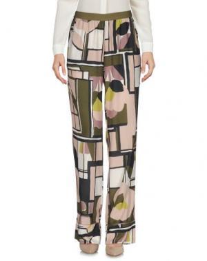 Повседневные брюки MARCHÉ_21. Цвет: светло-розовый