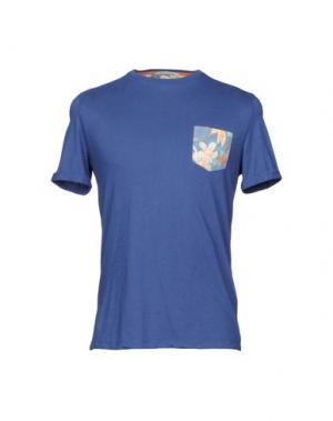 Футболка MCS MARLBORO CLASSICS. Цвет: темно-синий