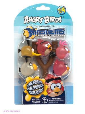 Игровой набор Сердитые Птички  ANGRY BIRDS. Цвет: красный, желтый, голубой
