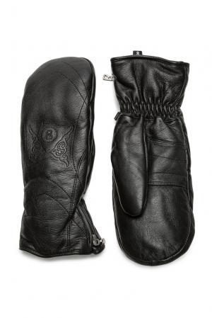 Кожаные варежки 170795 Bogner Sport Woman. Цвет: черный