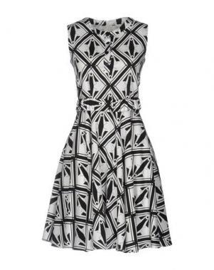 Короткое платье DAKS LONDON. Цвет: черный
