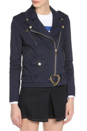 Жакет Love Moschino. Цвет: blue