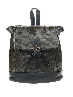 Рюкзак женский Olere. Цвет: черный, желтый