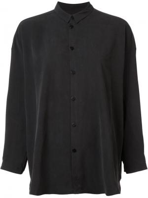 Mandarin collar shirt Toogood. Цвет: чёрный