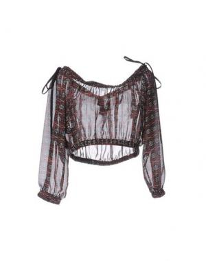 Блузка NORA BARTH. Цвет: баклажанный