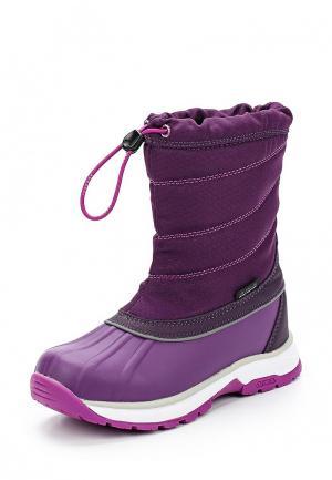 Дутики Icepeak. Цвет: фиолетовый