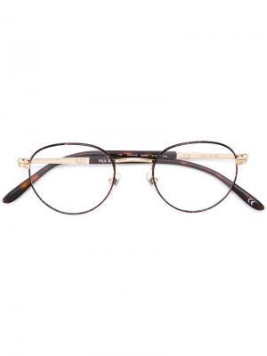 Очки Kaal Paul & Joe. Цвет: коричневый