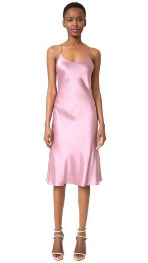 Платье Remy Olivia von Halle. Цвет: сиреневый