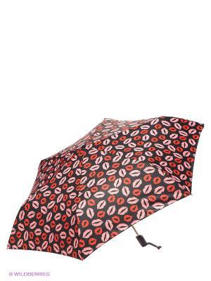 Зонт Labbra. Цвет: черный, красный, розовый