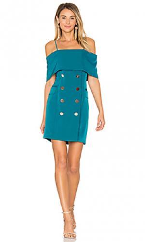 Платье beyond ELLIATT. Цвет: сине-зеленый