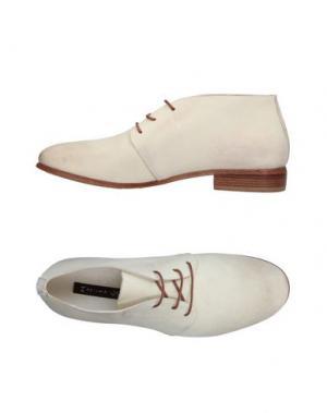Обувь на шнурках MANILA GRACE. Цвет: слоновая кость