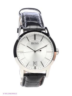 Часы HUGO BOSS. Цвет: черный, серебристый