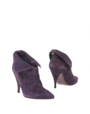 Полусапоги и высокие ботинки MANILA GRACE. Цвет: фиолетовый