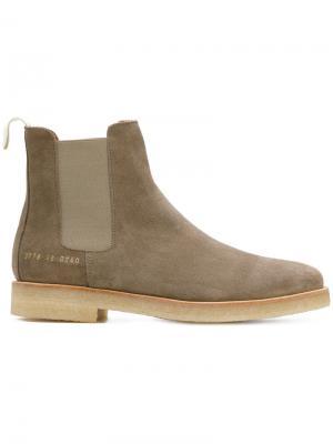 Ботинки Челси Common Projects. Цвет: коричневый