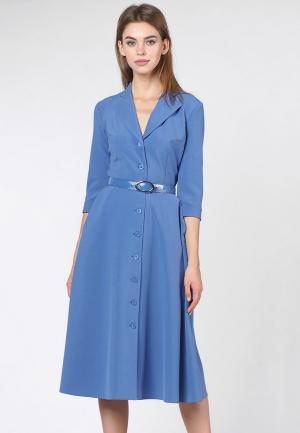 Платье OKS by Oksana Demchenko. Цвет: синий