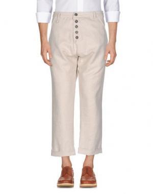 Повседневные брюки NOSTRASANTISSIMA. Цвет: бежевый