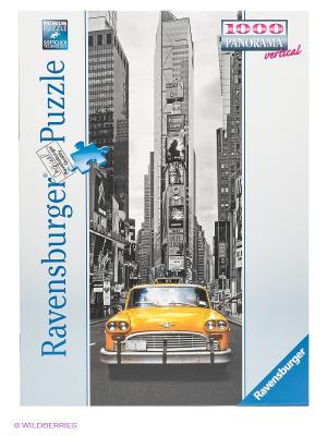 Паззл панорамный Нью-Йоркское такси, 1000 элементов Ravensburger. Цвет: серый, белый, желтый, синий