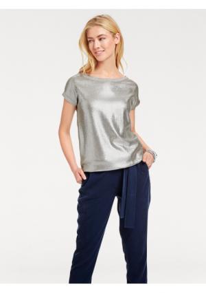 Пуловер B.C. BEST CONNECTIONS by Heine. Цвет: серебристо-серый