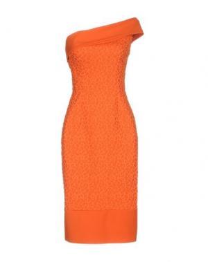 Платье до колена CHIARA BONI LA PETITE ROBE. Цвет: оранжевый