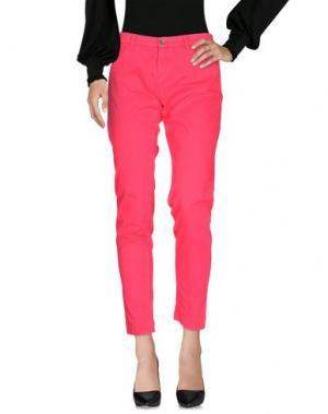 Повседневные брюки 40WEFT. Цвет: коралловый
