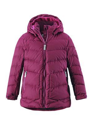 Куртка Reima. Цвет: малиновый