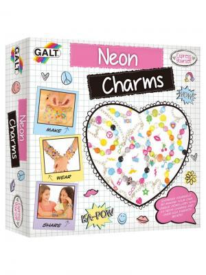 Неоновые браслеты Galt. Цвет: белый