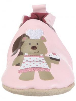 Ботинки MaLeK BaBy. Цвет: малиновый, бежевый, розовый