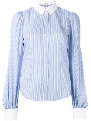 Рубашка с рукавами епископа Marc Jacobs. Цвет: синий