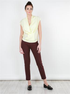 Блуза MAYAMODA. Цвет: светло-желтый, желтый
