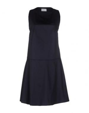 Короткое платье SAM&LAVI. Цвет: темно-синий