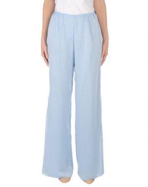 Повседневные брюки CAILAN'D. Цвет: небесно-голубой
