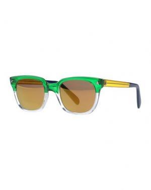 Солнечные очки SHERIFF & CHERRY. Цвет: зеленый