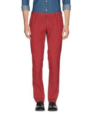 Повседневные брюки DOMENICO TAGLIENTE. Цвет: красный