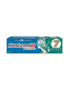 Зубная паста Blend-a-med Комплекс 7 с ополаскивателем, 100 мл BLEND_A_MED. Цвет: синий