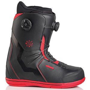 Ботинки для сноуборда  Idxhc Boa Focus Tf Black/Red Deeluxe. Цвет: красный,черный