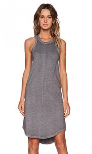 Платье-майка KES. Цвет: серый