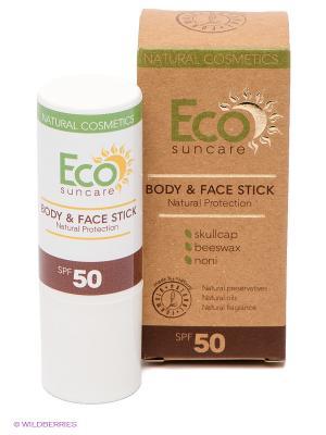 Солнцезащитный карандаш Natural Sun Protection Body & Face Stick SPF 50, 17г PULANNA. Цвет: белый