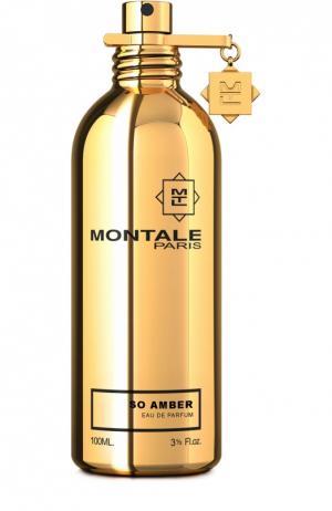 Парфюмерная вода So Amber Montale. Цвет: бесцветный