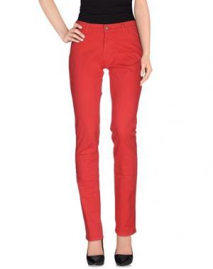 Повседневные брюки XANDRES. Цвет: фуксия