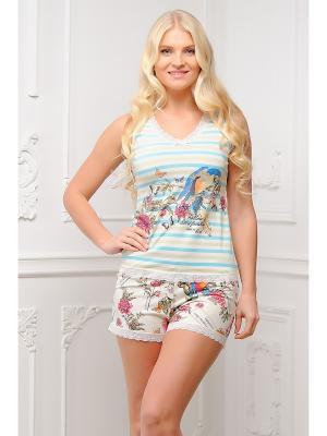 Пижама Mia Cara. Цвет: белый