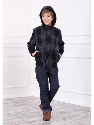 Куртка, пальто Baby Steen. Цвет: темно-серый